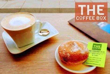 Започнете или приключете деня си в The Coffe Box с Kапучино и Донът само за 3.80 лв.!