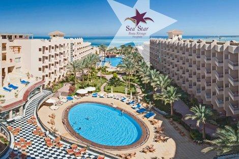 ПЕРЛИТЕ НА ЕГИПЕТ – Кайро и Хургада! Египет, хотел SEA STAR BEAU RIVAGE 5*: Чартърен Полет с трансфери + 6 нощувки на ба