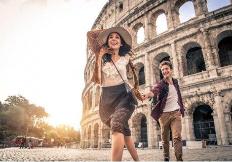 СВЕТИ ВАЛЕНТИН в РИМ със САМОЛЕТ! Директен полет + 4 нощувки със закуски в централен хотел 4*+ Панорамна обиколка на РИМ