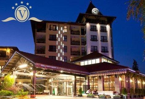 5 звезден СПА-РАЙ във ВЕЛИНГРАД, Гранд хотел Велинград 5*: Нощувка със Закуска и Вечеря за 79 лв. + Вътрешни Минерални б