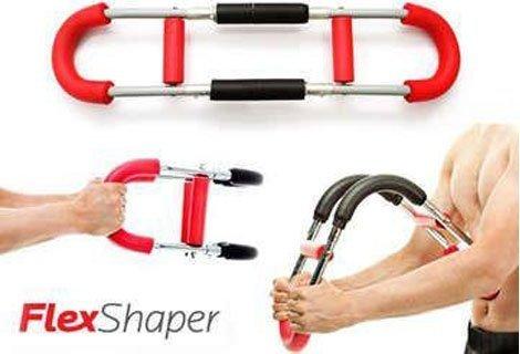 За мъже и жени: Революционния фитнес уред Flex Shaper за укрепване мускулите на ръцете, гърдите, гърба и раменете, на то