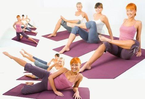 Направи тренировката си удобна, мека и приятна с Постелка, подходяща за занимания с йога, гимнастика, пилатес и аеробика