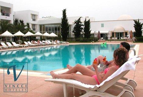 Почивка в Тунис 2019 г.! Самолетен билет за полет на Bulgaria Air + 7 нощувки в Vincci Flora Park 4* с частен ПЛАЖ на ба