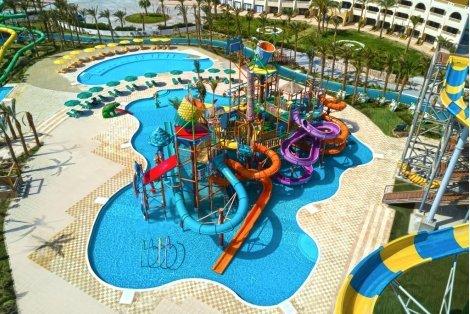 ЦЕНА от 880 лв. за Египет, хотел Golden Paradise Aqua Park City 5*: Чартърен Полет с трансфери + 7 нощувки ALL INCLUSIVE