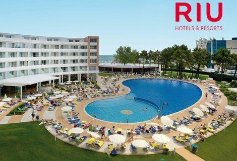 Лято 2019 в Слънчев Бряг на първа линия, хотел РИУ Хелиос 4* : Нощувка на база ALL INCLUCIVE на цена от 67.50 лв. на Чов