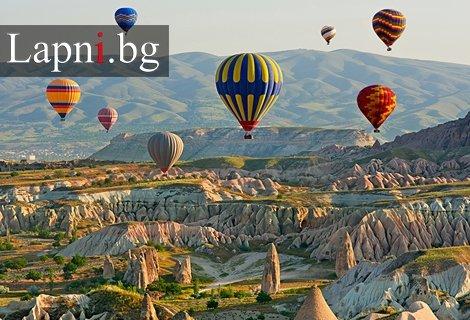 Март в Кападокия! Транспорт + 4 нощувки със закуски  в хотели 3* в  Анкара, Кападокия и Истанбул+ Богата туристическа пр