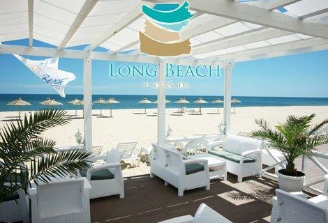 Специална оферта в LONG BEACH RESORT & SPA 5*, Шкорпиловци! Нощувка в Апартамент на база All inclusive Light за 87 лв. на Човек + ДЕТЕ до 11.99 год. Безплатно + Чадъри и Шезлонги на Басейна и на Плажа+ СПА + Безплатно ползване на термална зона