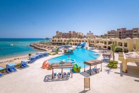 ЦЕНА от 699 лв. за Египет, хотел SUNNY DAYS PALMA DE MIRETTE 4*: Чартърен Полет с трансфери + 7 нощувки ALL INCLUSIVE + Чадъри и шезлонги на басейна и на плажа на хотела