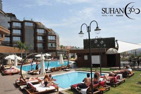 ЛЯТО 2019 в ТУРЦИЯ, КУШАДАСЪ! Транспорт с автобус + 7 нощувки All Inclusive в хотел SUHAN 360 HOTEL BEACH 5* на цени от 589 лв.