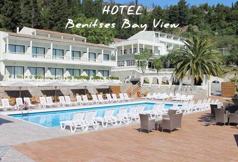 LAST MINUTE 390 лв. за КОРФУ, ЛЯТО 2019, Benitses Bay View Hotel 3*: Самолет билет + 7 Нощувки на база Закуска и Вечеря
