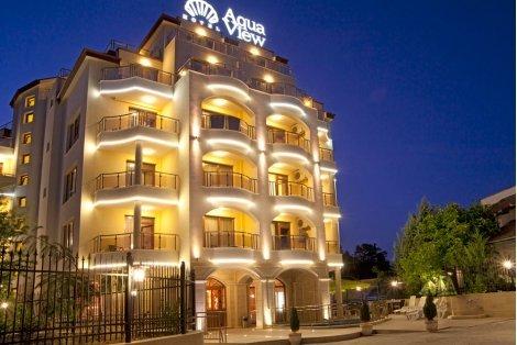 НОВО! ЗЛАТНИ ПЯСЪЦИ, хотел Aqua View 4* до плаж КАБАКУМ: Нощувка със закуска за 51 лв. ИЛИ със Закуска и ВЕЧЕРЯ + Напитки за 65 лв.