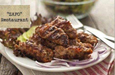 Сръбски кулинарни хитове на половин цена от Ресторант Зафо в сърцето на София! Порция Ущипци + Пикантни пържени картофки за 6.99 лв. ИЛИ Пилешка пържола от бут по сръбски +Пикантни пържени картофки  за 7.80 лв.