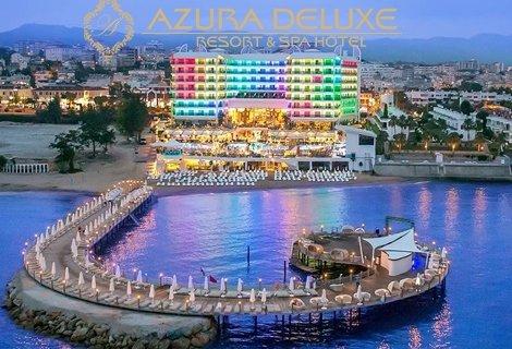 NEW Лято 2019, Алания - АНТАЛИЯ, хотел AZURA DELUXE RESORT 5*! Автобусен ТРАНСПОРТ + 7 нощувки на база ULTRA ALL INCLUSIVE + на цени от 666 лв. на ЧОВЕК!