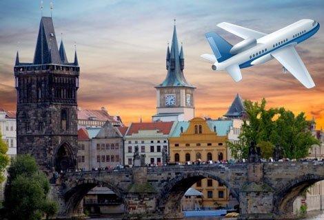 LAst minute 490 лв! Уикенд във вълшебна ПРАГА със САМОЛЕТ! Директен полет + 3 нощувки със закуски в хотел 4* по избор + Обзорна обиколка на Прага с екскурзовод на български