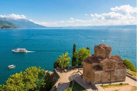 Септемврийски Празници в ОХРИД! Транспорт с автобус + 2 Нощувки в хотел в центъра на Охрид + Туристическа програма с екскурзовод в Охрид и Скопие за 125 лв.