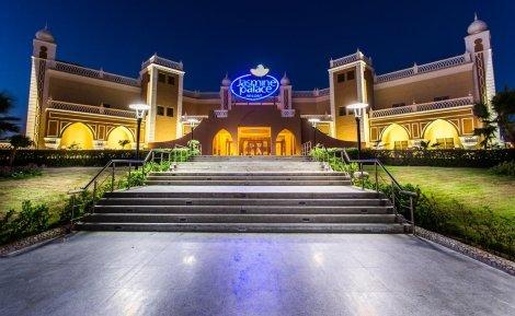 ПЕРЛИТЕ на Египет: Чартърен Полет с трансфери +  1 нощувка в КАЙРО в хотел Mercure Cairo Le Sphinx 5* + 6 нощувки ALL INCLUSIVE в хотел JASMINE PALACE RESORT 5* + Екскурзия до Кайро и Пирамидите само за 980 лв. на ЧОВЕК