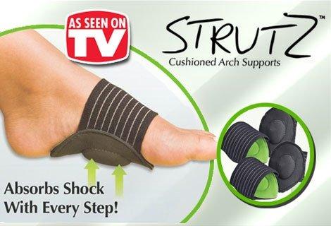 Подобно на децата, краката ни се нуждаят от специално внимание и грижи!  Дайте на краката си комфорта, който заслужават с чифт стелки Strutz само 3.70 лв.