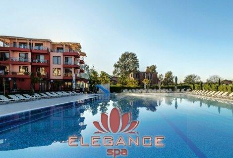 Лятна Почивка в Хотел Елеганс СПА 3*, Огняново! Нощувка със Закуска и Вечеря за 48 лв. на Човек + БАСЕЙН + СПА с минерална вода