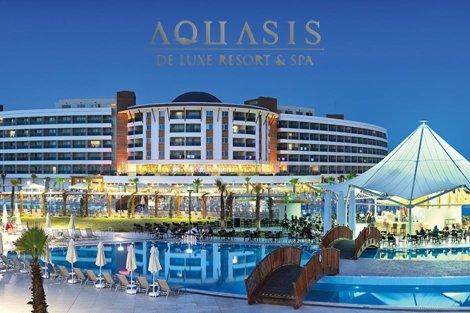 NEW за 2019 г в ДИДИМ, ТУРЦИЯ! Транспорт с автобус + 7 нощувки на база Ultra All inclusive + в хотел AQUASIS DELUXE RESORT & SPA 5* за 578 лв. на Човек