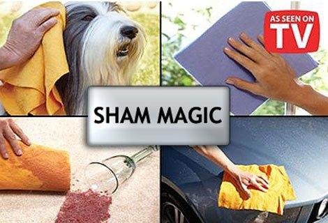 Почистете перфектно дома си, любимите предмети и всичко останало със супер абсорбиращи кърпи Sham magic-10 броя на цена от 3.90 лв