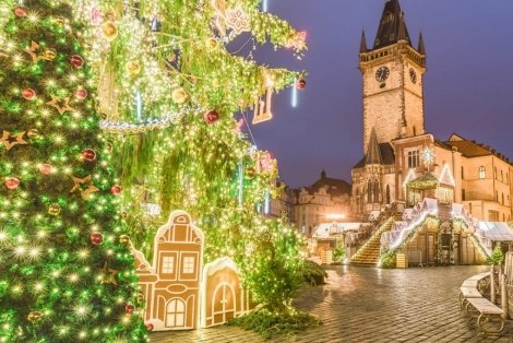 ПРЕДКОЛЕДНИ ПРАГА и ДРЕЗДЕН! Транспорт с автобус + 3 нощувки със закуски в хотели 3* + Туристическа програма в Прага и Братислава за 369 лв.