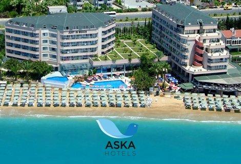 Нова година в АЛАНИЯ - АНТАЛИЯ, хотел Aska Just In Beach 5*! Транспорт + 4 нощувки на база  ALL INCLUSIVE на цени от 353 лв. на ЧОВЕК!