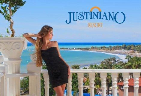 НОВА ГОДИНА в ТУРЦИЯ, АНТАЛИЯ! Транспорт + 4 нощувки Ultra All Inclusive в хотел JUSTINIANO DELUXE RESORT 5* на цени от 376 лв.