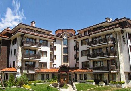Апартаменти Еделвайс Инн 3*, Банско! Само за 18.99 лв. на човек: Нощувка в Апартамент + Сауна и Джакузи