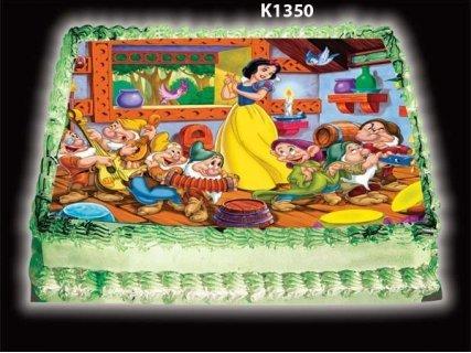"""Нови картинки за малките ви рожденици! Прекрасна цветна и вкусна торта с картинка и пълнеж по избор от Виенски Салон """"Лагуна"""" за 29 лв. с предплащане на ваучер за 1 лв."""