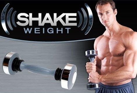 Фитнес откритието на годината, и за Вас Мъже - Shake Weight - 6 минути на ден и придобиваш желаните форми само за  9.90 лв.