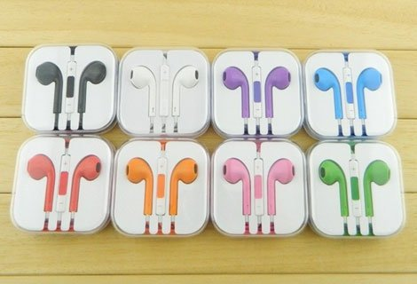 Слушай музика цветно и с пролетно настроение! За вашия IPhone 2 броя слушалки EarPods  На ТОП цена 4.99 лв!