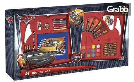 Зарадвай малчугана с коледен подарък! Куфарче с креативен комплект Star Wars, Миньоните или Колите
