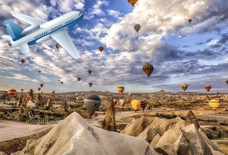 Най-доброто от Турция със САМОЛЕТ, Анталия и Кападокия! Самолетен билет + 7 нощувки със закуски и ВЕЧЕРИ в хотели 4* + Богата туристическа програма за 605 лв.
