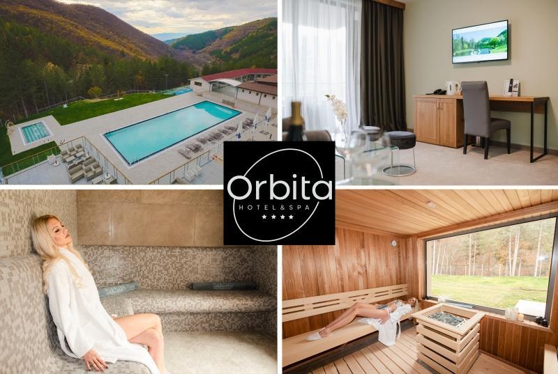 Еднодневен делничен и уикенд пакет със закуска и вечеря + Един класически масаж и ползване на басейн и СПА в СПА Хотел Орбита, Благоевград
