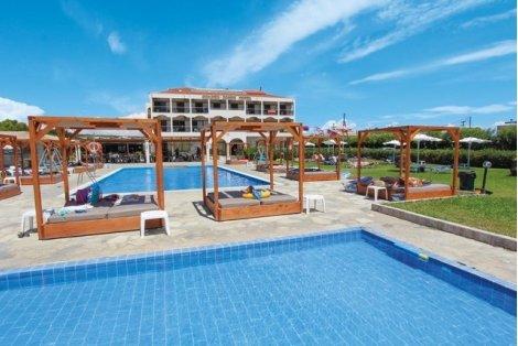 ЛЯТО 2020 на остров КОРФУ, на плажа! Самолетен билет + 7 Нощувки на база All Inclusive в хотел Golden Sands 3* САМО за 695 лв. на Човек
