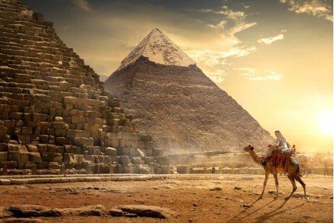 Перлите на Египет - Кайро и Хургада: Чартърен Полет с трансфери + 1 нощувка в Кайро със закуска и вечеря в хотел 5* + 6 нощувки на база ALL INCLUSIVE в луксозния PHARAOH AZUR RESORT 5* + Екскурзия до Кайро и Пирамидите + Обяд на корабче по НИЛ на цен