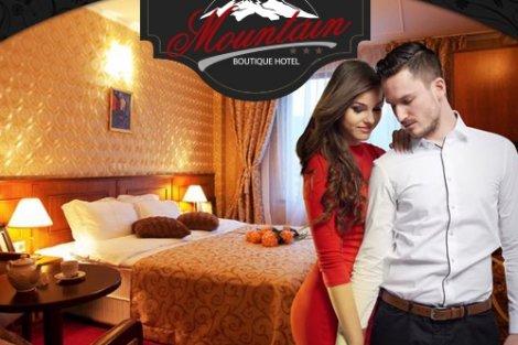ДЕВИН, Семеен хотел Маунтин Бутик 3*: Нощувка със Закуска + Вечеря на цена от 40 лв. на ЧОВЕК + Сауна и Парна баня + Дете до 5.99 г. Безплатно!