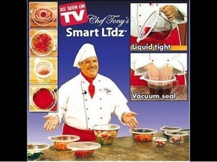 Smart Lidz - комплект от 4 броя универсални капаци за запазване на храна само за 7.99 лв