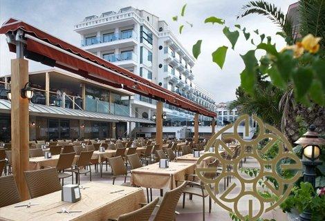 Лято 2020 в Мармарис, хотел EMRE BEACH 5 *на брега: 7 нощувки ULTRA ALL INCLUSIVE + ТРАНСПОРТ на цени от 544 лв. на ЧОВЕК
