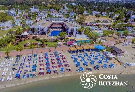 БОДРУМ 2020, хотел COSTA BITEZHAN BEACH 4*: Автобусен транспорт + 7 нощувки на база ALL INCLUSIVE, за 480 лв. на човек!