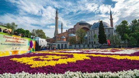 Фестивала на лалето в Истанбул 2020! Транспорт с автобус + 2 нощувки със закуски в хотели в историческата част на Истанбул + Посещение на Одрин + Екскурзоводско обслужване на цени от 161 лв. на Човек!