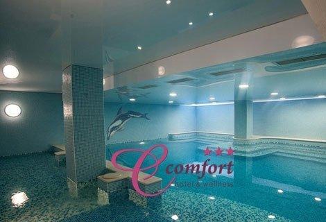 Релакс и Комфорт в ХИСАРЯ, Хотел Си Комфорт 3*! 2, 3 или 4 нощувки със закуски в СТУДИО + закрит минерален басейн, сауна и парна баня от 90 лв. на ЧОВЕК