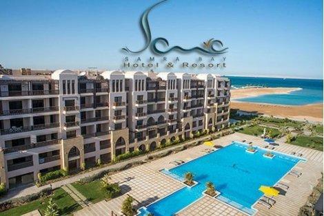 ПЕРЛИТЕ на Египет: Чартърен Полет с трансфери + 1 нощувка в КАЙРО в хотел Mercure Cairo Le Sphinx 5* + 6 нощувки ALL INCLUSIVE в хотел Samra Bay Resort 4* Premium + Екскурзия до Кайро и Пирамидите за 999 лв.