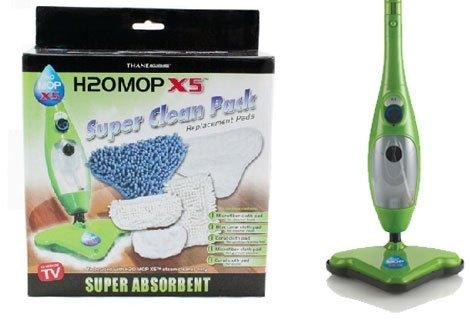 Всеки Steam Mop X5 има нужда от резервни части! Осигурете си 2 броя резервни подложки на топ-цена от 4.90 лв.