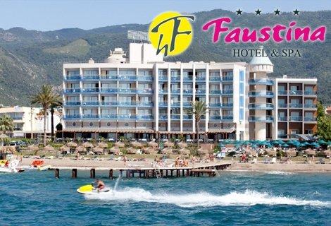 Лято 2020 в КУШАДАСЪ! Транспорт с автобус + 7 нощувки на база ALL INCLUSIVE в хотел FAUSTINA HOTEL 4* за 508 лв. на Човек!