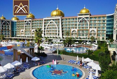 ТУРЦИЯ! Алания - АНТАЛИЯ, хотел Alan Xafira Deluxe Resort & Spa 5*! Чартърен полет + 7 нощувки на база  ULTRA ALL INCLUSIVE + на цени от 887 лв. на ЧОВЕК!