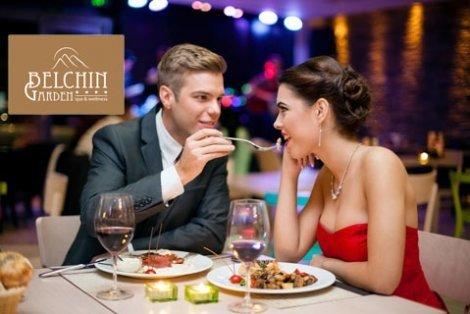 Специална НЕДЕЛЯ в луксозния BELCHIN GARDEN 4*: Нощувка със закуска и Вечеря по селектирано 3-степенно меню с комплимент вино за ДВАМА само за 188 лв. + Wellness пакет + Комплименти