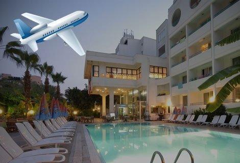 Мармарис, хотел SESIN 4* на брега: Самолетен Билет + 7 нощувки ALL INCLUSIVE на цени от 708 лв. на ЧОВЕК
