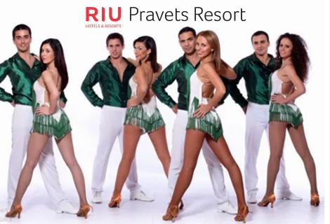 Септемврийски празници в RIU PRAVETS RESORT 4* с Памбос в RIU PRAVETS RESORT 4*: Нощувка със закуска и ВЕЧЕРЯ с латино парти + Двудневен workshop по латино танци на цена от 167 лв. за ДВАМА в стая  + ДЕТЕ до 9.99 г. БЕЗПЛАТНО