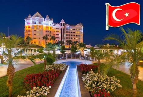 Нова година 2021 в ТУРЦИЯ, АНТАЛИЯ, в най-добрите хотели! Чартърен полет + 4 нощувки All Inclusive в хотел 5* по избор на цени от 660 лв.!